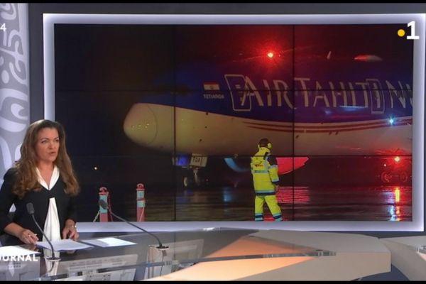 Un avion cargo d'ATN en partance pour la Chine