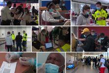 Environ 300 passagers sont arrivés de Guyane à l'aéroport d'Orly samedi matin, jour du lancement de la nouvelle procédure sanitaire pour lutter contre le variant brésilien du coronavirus.