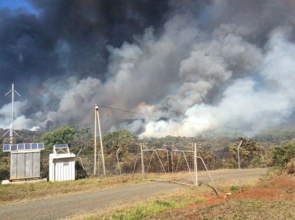 Incendie à Belep