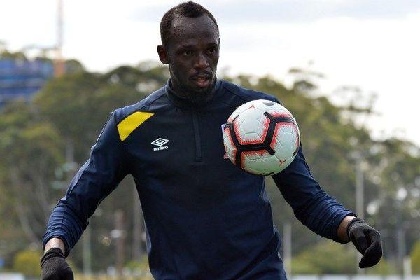 Usain Bolt en Australie