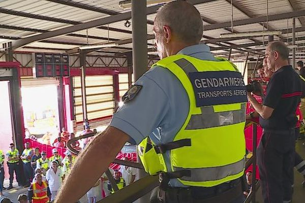 secours, gendarmerie, simulation
