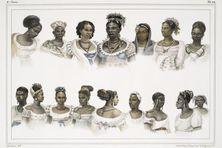 Esclaves nègres, de différentes nations, 1834 - 1839 Jean-Baptiste Debret (1768-1848)