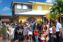 Quelques privilégiés ont pu visiter la résidence préfectorale à Didier (Fort-de-France).