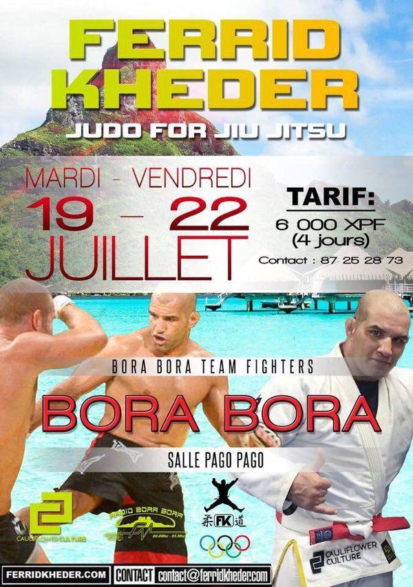 Ferrid Kheder à bora Bora