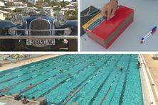 Le Téléthon 2019, c'était, entre autres, des balades en voiture ancienne et des longueurs de piscine.