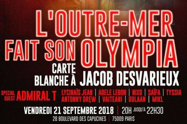 L'Outremer fait son Olympia