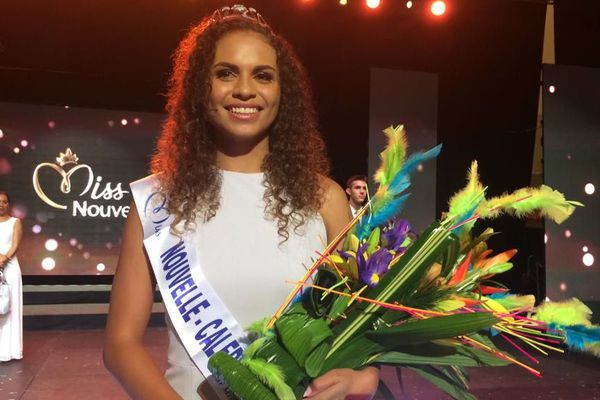 Anais Toven, miss Calédonie 2019