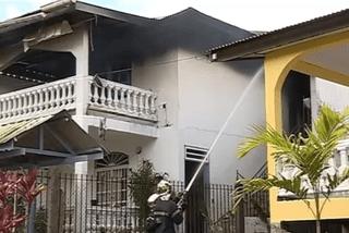 Incendie des deux appartements à Balata ouest