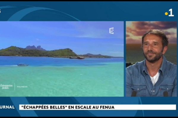 « Echappées belles » en Polynésie