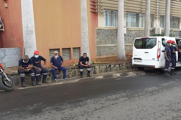 pompiers en grève