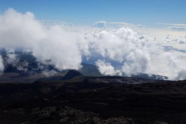 Nuages au volcan