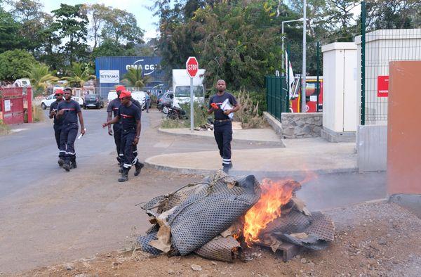Sapeurs pompiers grève