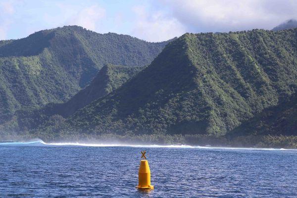 La commune de Teahupoo à Tahiti (Polynésie)