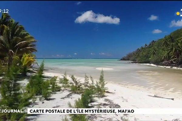 Carte postale de l'île mystérieuse, Mai'ao