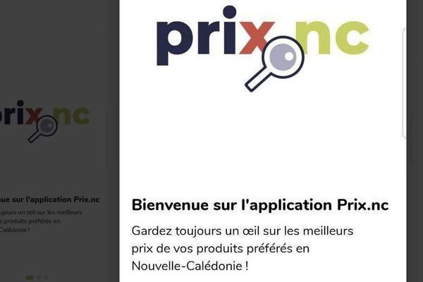 Application pour comparer les prix, avril 2020