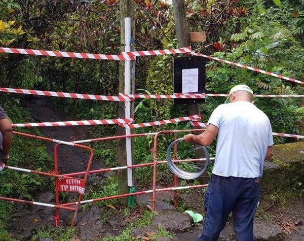 Bassin la Paix arrêté d'interdiction mairie Bras-Panon 251119