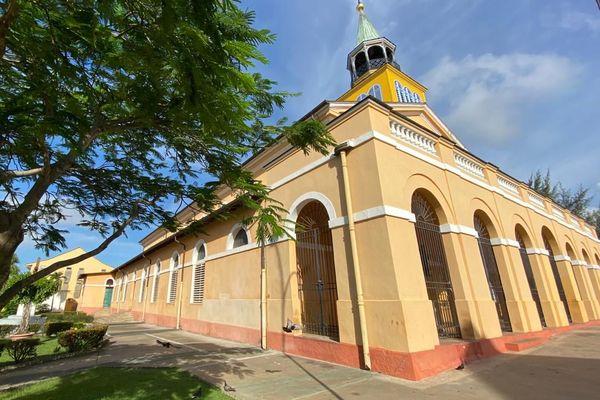 La cathédrale Saint-Sauveur de Cayenne