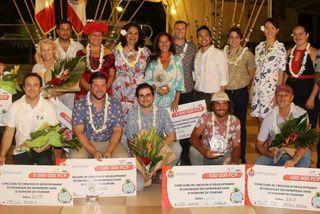 Lauréats du concours de création d'entreprises dans le secteur du tourisme