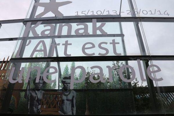 Exposition Kanak, l'art est une parole