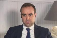 Sébastien Lecornu, ministre des OUtre-mer  interviewé le 27 septembre dans le JTSoir
