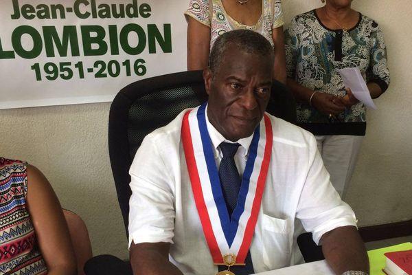 Philipson Francfort, nouveau maire de Morne-à-l'Eau