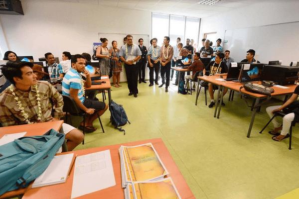 Inauguration de la deuxième promotion de l'école des arts et métiers numérique de Polynésie