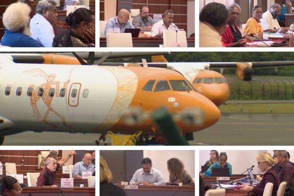 Polémique autour d'Air Calédonie au Congrès, 28 mai 2020