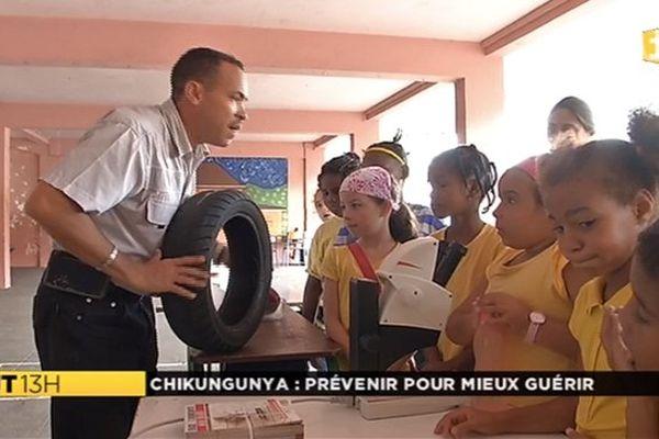 Prévention chikungunya avec des enfants