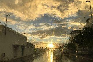 Lever de soleil humide