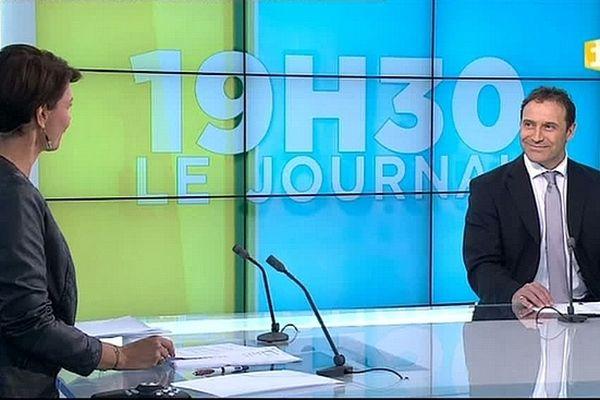 Thierry Terret, Recteur de l'Académie de la Réunion