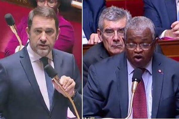Christophe Castaner et Mansour Kamardine