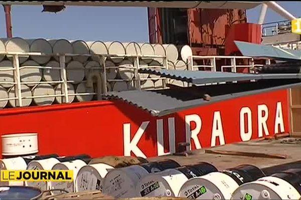 Le Kura Ora prêt à reprendre la mer