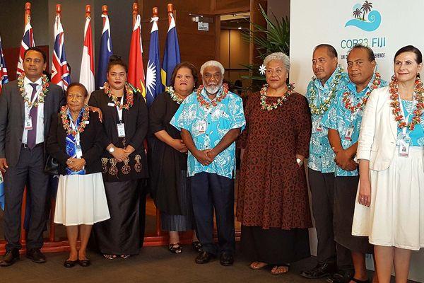 Tearii Alpha aux Fidji COP 3