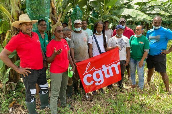 Ouvriers / banane / grève CGTM