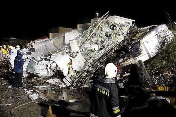 au moins 45 morts crash Taiwan