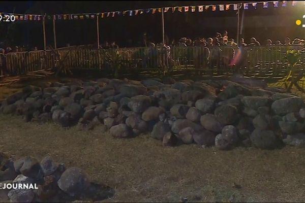 La marche sur le feu ouvre les festivités du Heiva