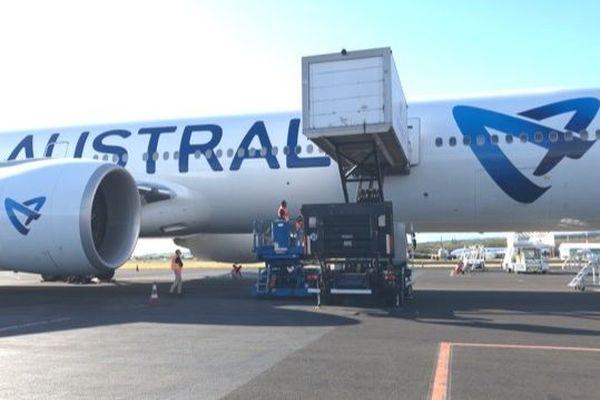 Masques avion Air Austral