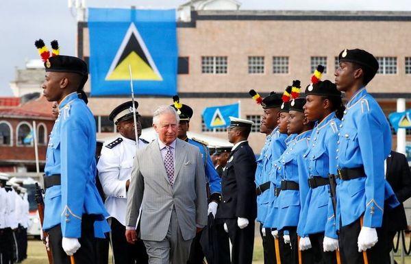 Prince Charles à Sainte-Lucie