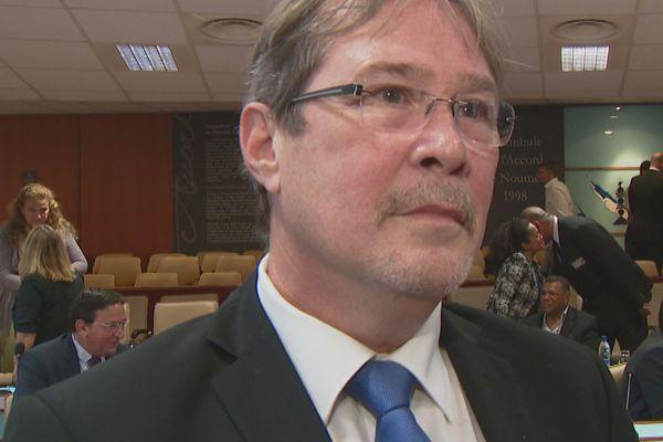 Philippe Michel après l'élection du président du Congrès, 30 juillet 2018