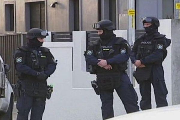 Police antiterroriste australienne