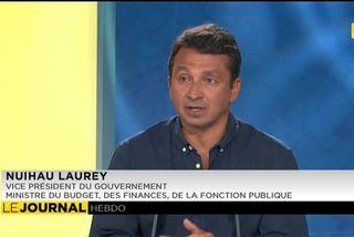 L'invité du journal : Nuihau Laurey,