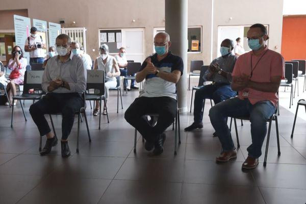 Trois nouveaux professeurs hospitaliers praticiens à l'hôpital de Cayenne