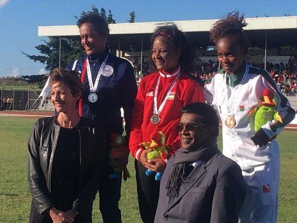JIOI 2019 Athlétisme médaille d'argent pour Dominique Gomez 5 000m marche 230719