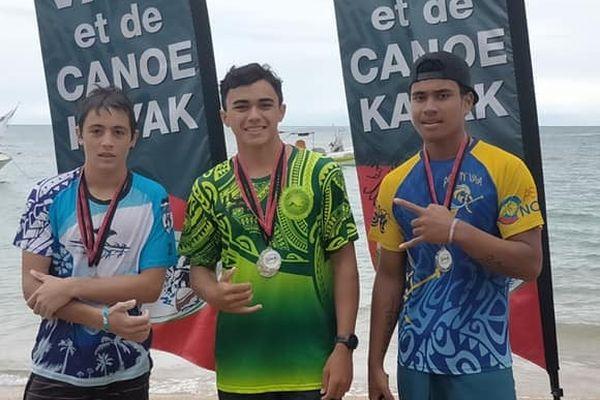 Leone Latunina, troisième au championnat marathon V1