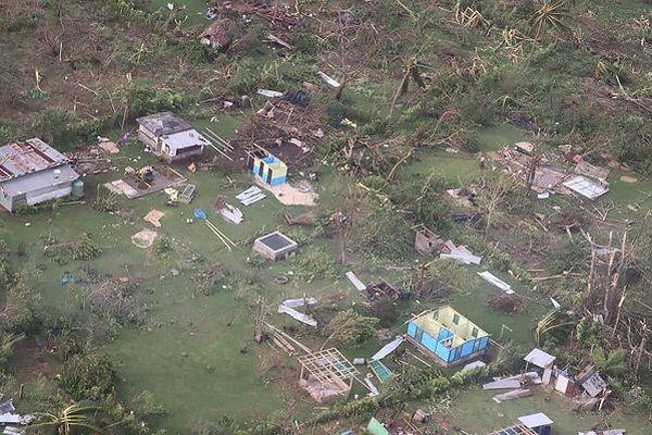 Le Vanuatu après le passage du cyclone Harold