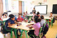Rentrée du 22 février à l'école de Wani.
