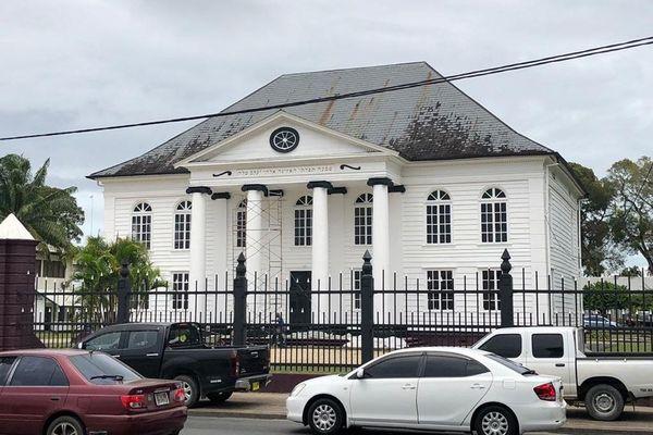 Paramaribo Palais du Gouvernement