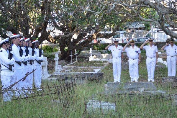 Hommage aux marins morts pour la France
