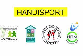 Nominés dans la catégorie Handisport : Adapei Mayotte & MDPH 976 & Centre Multisports Mroale C2m & Handicapable de Mayotte