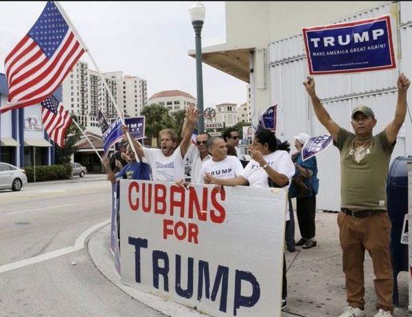 Exilés cubains à Miami